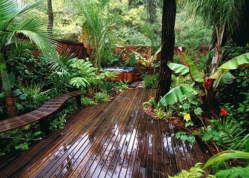 الهام و ایده از حیاط خلوت و روف گاردن و بام سبز