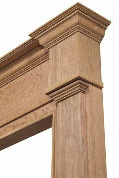 چهارچوب چوبی با روکوب کلاسیک و مدرن , ساخت درب چوبی