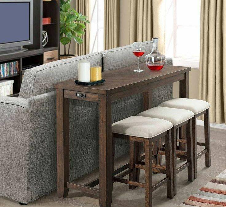 انواع میز کنسول , میز کنسول چوبی