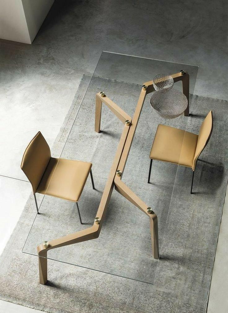 میز های جالب و استثنایی با چوب گردو