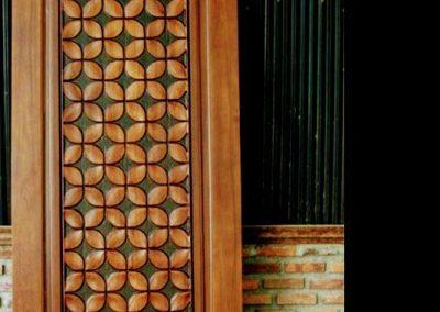 ساخت درب چوبی , درب چوب ساج , ایده درباره طراحی درب چوبی