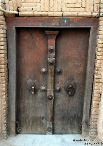 ساخت درب چوبی سنتی , درب چوبی قدیمی