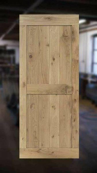 مدل درب چوب بلوط , ایده جالب یک درب چوبی