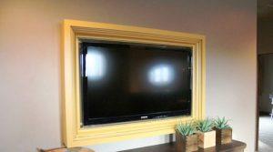 قاب بندی تلویزیون دیواری