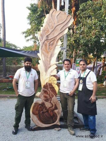 هنرمند و صنعتگر کرمانشاهی در تورنمنت جهانی چوب برنده شد