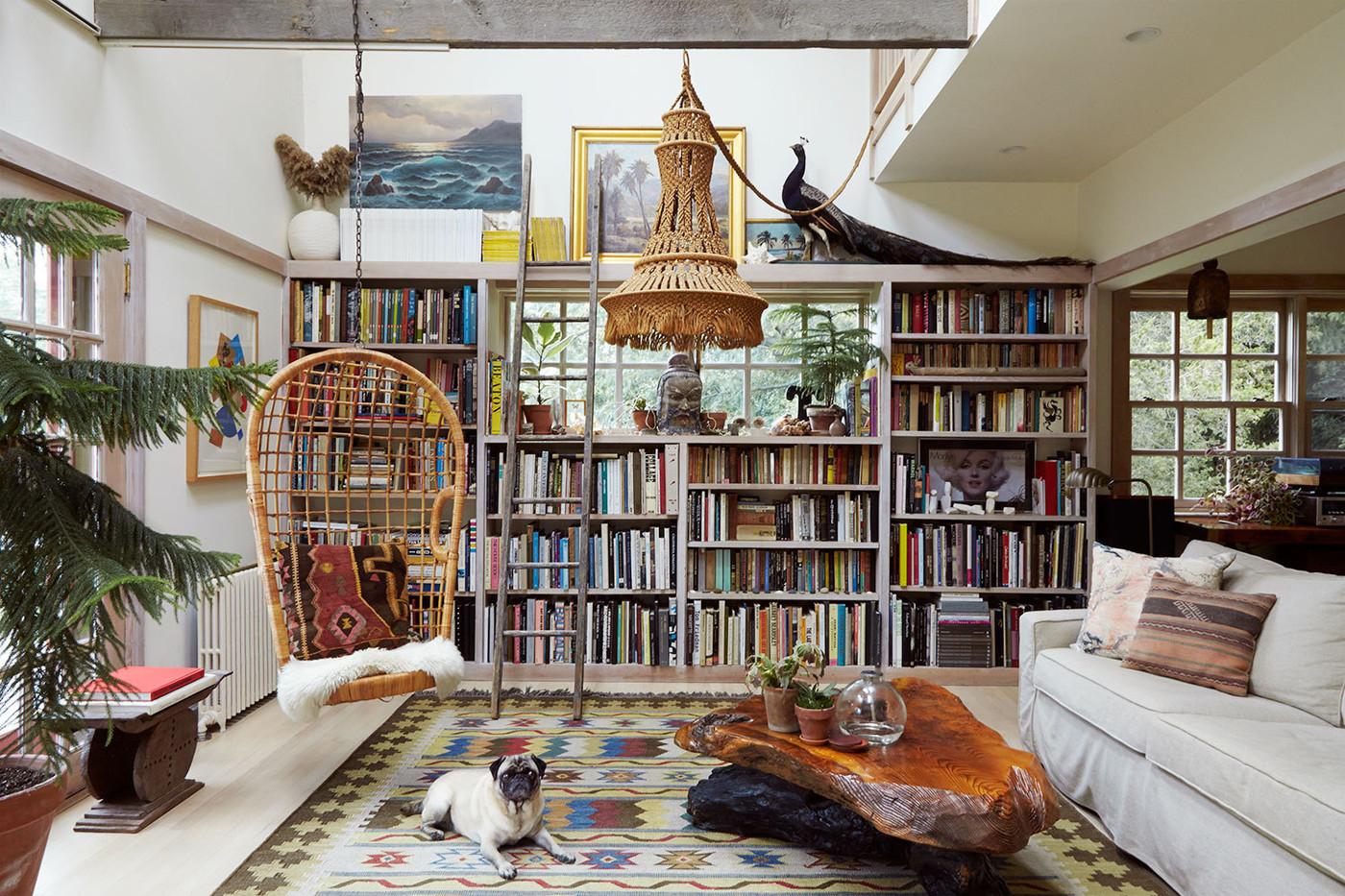 قفسه کتاب سبک رومی کتابخانه دکوراسیون فن و هنر