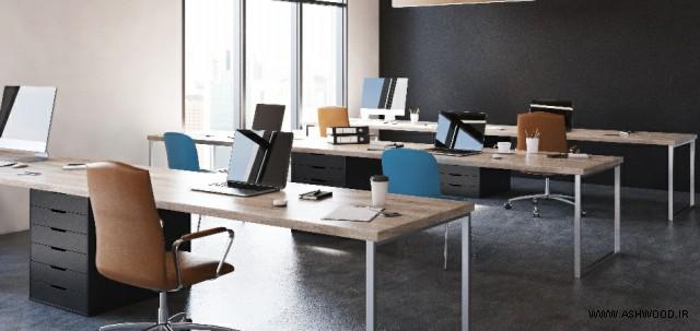 ارتفاع استاندارد میز دفتر چیست؟