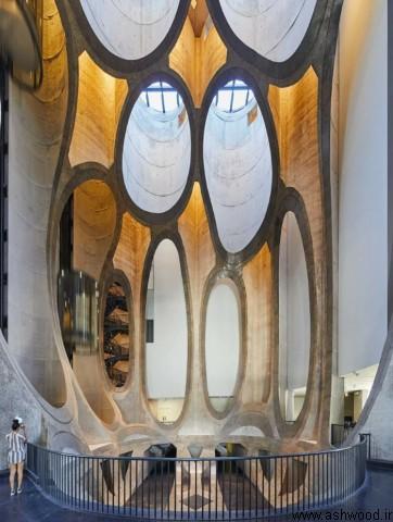 hufton + کلاغ عکس موزه زیتز MOCAA هدرویک در شهر کیپ