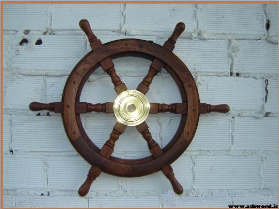 سکان کشتی سبک دکوراسیون مناطق استوایی و ساحلی
