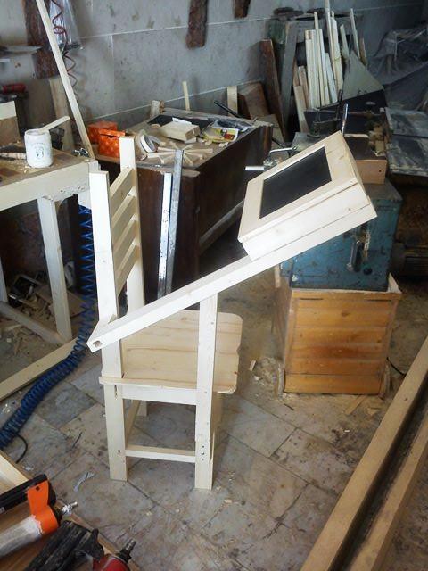 صندلی نماز چوبی