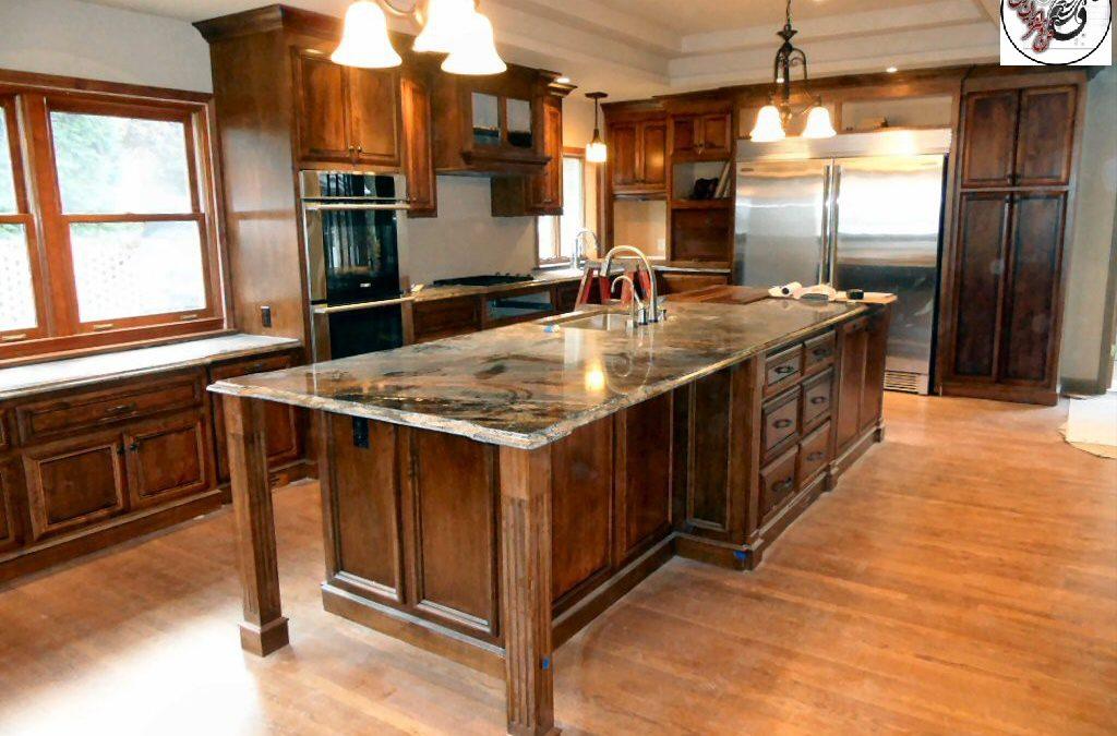 نمونه کارهای انجام شده کابینت آشپزخانه