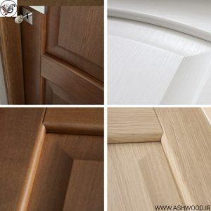 درب ساخته شده از چوب