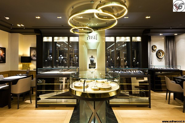 دکوراسیون طلا فروشی بهترین ایده های طراحی داخلی