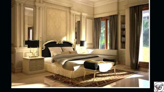 دکوراسیون اتاق خواب کلاسیک با انواع طراحی بسیار زیبا و چشم نواز , اتاق خواب لاکچری و کلاسیک دکوراسیون اتاق خواب