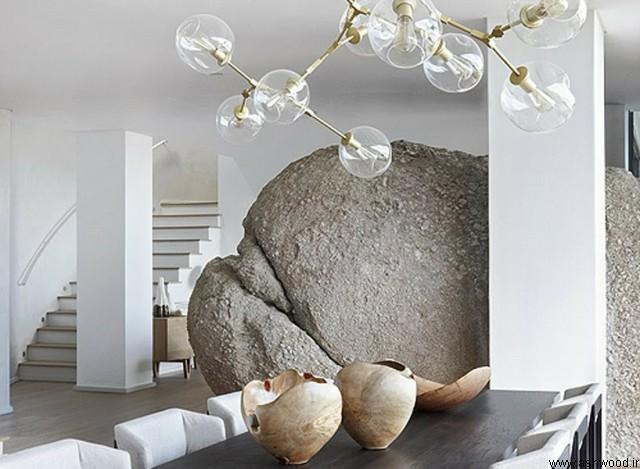 bomax + طراحی OKHA خانه لوکس آفریقای جنوبی با ویژگی طبیعی یکپارچه