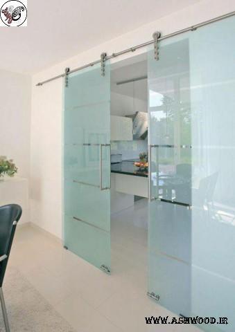 درب شیشه خور , درب اتاق شیشه خور , قیمت درب داخلی شیشه خور , درب اتاق خواب شیشه خور , مدل درب چوبی شیشه خور , راهنمای خرید درب اتاق
