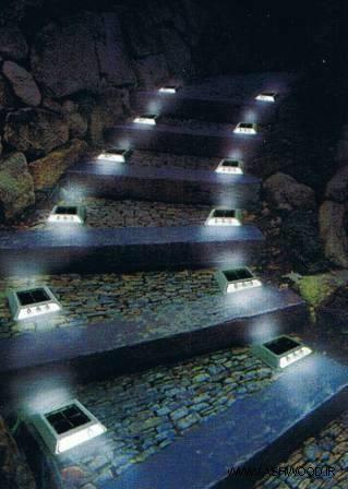 ایده نورپردازی محیط و فضای سبز