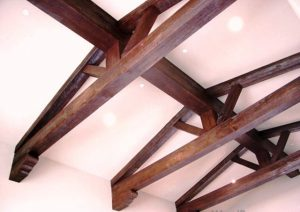 سقف تیر و الوار اسپانیایی