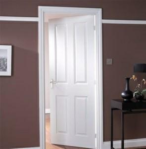 درب چوبی چهار پنلی , ساخت درب چوبی سفارشی