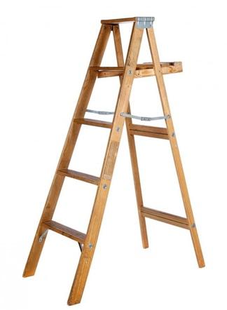 ساخت نردبان چوبی , ابعاد استاندارد نردبان