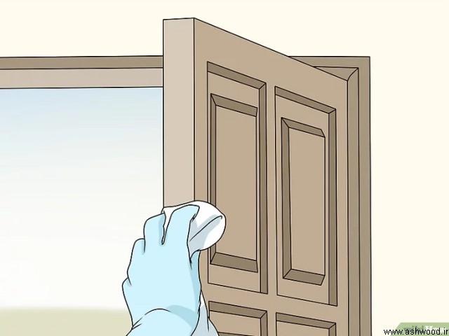 نحوه پاک کردن درب های چوبی , نگهداری از درب چوبی