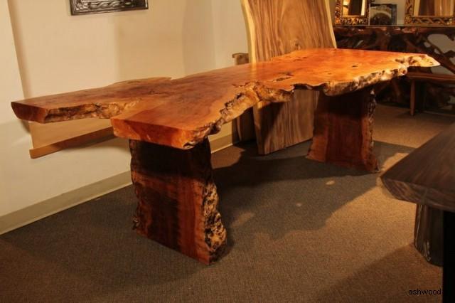 میز های چوبی عجیب و غریب