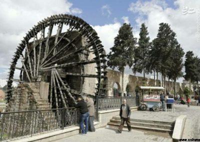 عکس/ آسیابهای آبی حمات سوریه