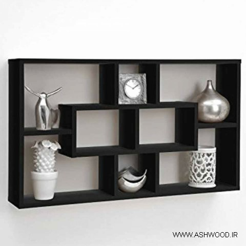 پارتیشن، پارتیشن چوبی ثابت , قفسه کتاب، قفسه، قفسه و طبقه بندی چوبی