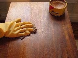 پولیش چوب با موم عسل , واکس چوب , روغن محافظ چوب