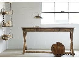میز تحریر چوبی