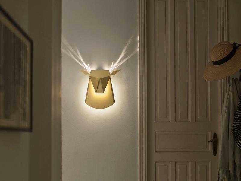 لامپهای دیواری به شکل حیوانات