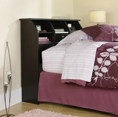 قفسه تخت خواب چوبی