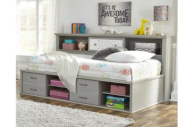 5  طرح قفسه و کتابخانه برای تخت خواب های شما