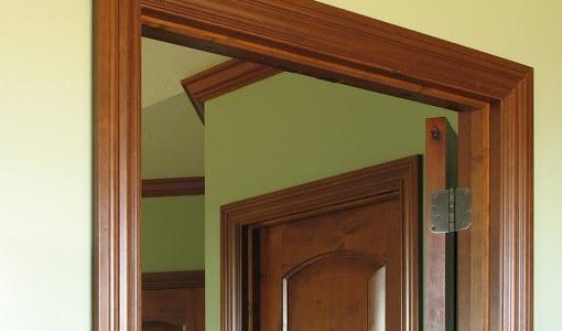 راهنمای در های قاب دار داخلی, درب چوبی