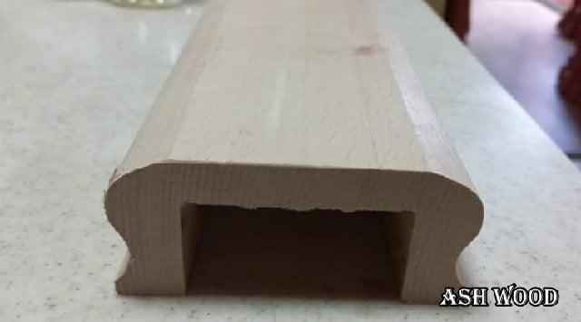 دست انداز چوب راش عرض 10 سانت