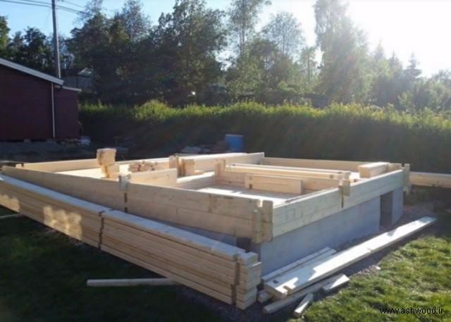 ساخت کلبه چوبی کوچک , ایده منحصر به فرد طراحی و ساخت کلبه چوبی