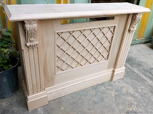 کاور شوفاژ سبک کلاسیک , دکوراسیون لوکس چوبی , کاور چوبی رادیاتور