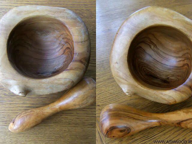 استفاده از موم و موز برای پولیش چوب , واکس چوب مبل