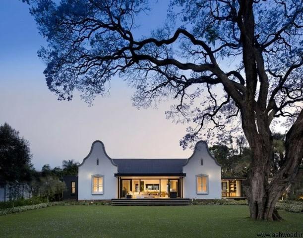 طراحی و  بازسازی خانه مزرعه 1900s تبدیل به خانه ای معاصر در آفریقای جنوبی