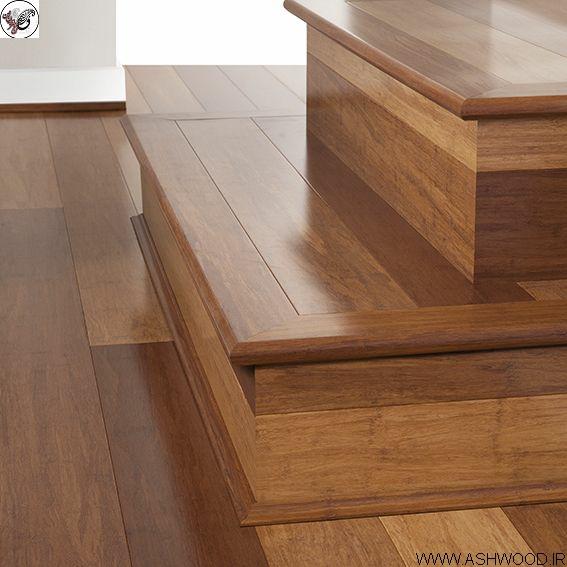 پله چوب راش , کف پله چوبی , کف پله چوب راش