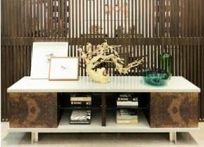 میز سبک مدرن چوب گردو و ریشه گردو