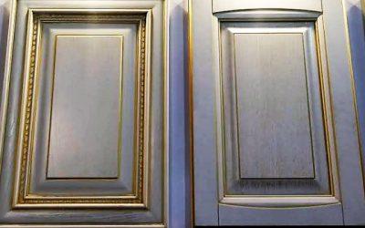 ایده و مدل های جالب درب کابینت آشپزخانه، فروش درب تمام چوب کابینت