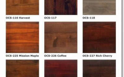 پالت رنگ چوب