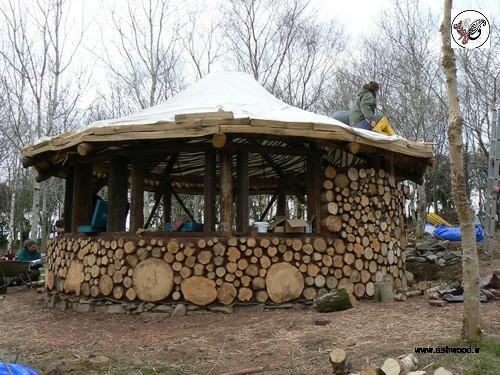 سقف خاص برای خانه های چوبی