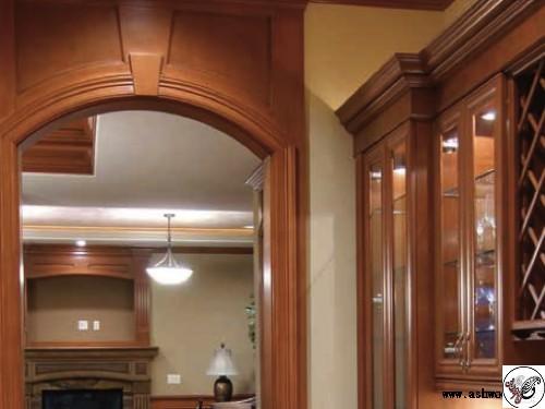 دکوراسیون داخلی منزل , بوفه و ویترین کلاسیک