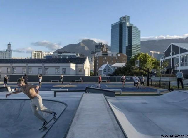 "dhk با ایجاد ""پارک باتری"" جدید ، آبشارهای V&A را در شهر کیپ دوباره زنده می کند"