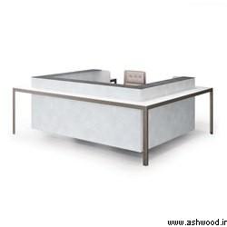 میز کانتردار. میز پذیرش , میز کانتر , میز لابی