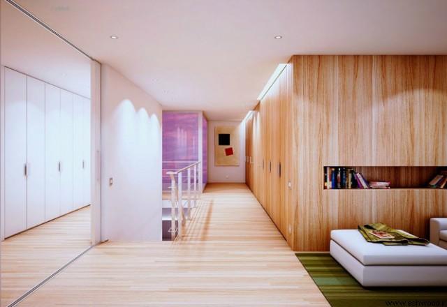 چوب در طراحی داخلی