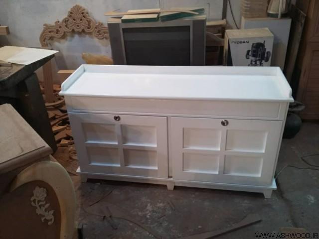 میز کنسول چوبی , دکوراسیون چوبی منزل