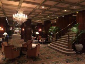 لابی هتل دکوراسیون